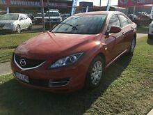 2008 Mazda 6 GH1051 Classic Red 5 Speed Sports Automatic Sedan Rocklea Brisbane South West Preview