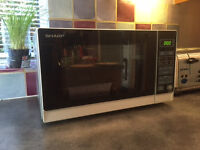 SHARP Microwave R272KM Solo Compact 20L