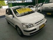 2004 Hyundai Getz TB MY04 GL White 4 Speed Automatic Hatchback Five Dock Canada Bay Area Preview