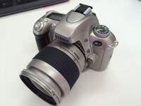 Nikon F55 Camera body + Nikon AF 28 - 80mm + Nikon AF 70-300mm lenses