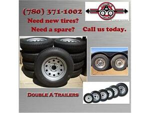 Trailer Tires, Spare Tires, New Tires