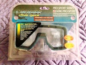NEW CAYMAN PROFESSIONAL DIVING MASK