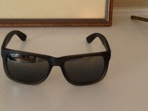 Ray-Ban Mirrored Square Justin Grey Sunglasses for Sale!!