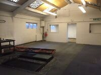 Office & Workshop/Storage/ Warehouse complex available for short-term lease