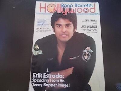 Erik Estrada  Gary Busey  Bill Bixby   Rona Barretts Hollywood Magazine 1978