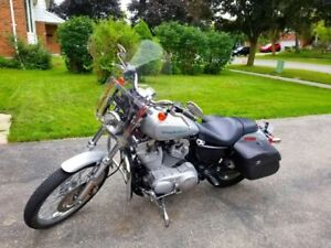 2005 Harley Davidson Sportster 883 (LOW MILES), lots of add ons