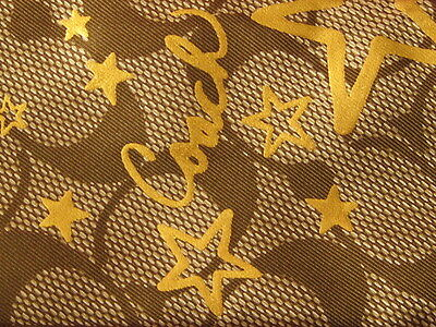 COACH brand designer NEW 100% LONG SILK SCARF TWILLY discount signature brown (Coach Discount)