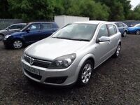 VAUXHALL ASTRA 2006 1.6 SXI 5 DOOR SILVER 93,000MILES SERVICE HISTORY M.O.T: 03/03/18 GOOD CONDITION