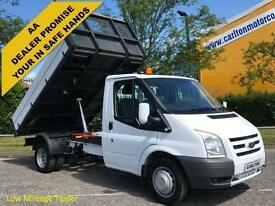2011 61 Ford Transit 100 T350m Tipper 10.5ft Alloy body Drw