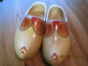 Decorated Dutch Wooden Shoes