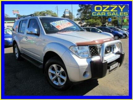 2005 Nissan Pathfinder R51 ST-L (4x4) Silver 6 Speed Manual Wagon Penrith Penrith Area Preview