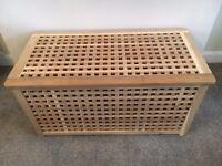 Ikea Solid wood storage Table / Box