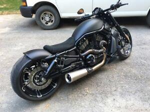 Custom Harley night rod special