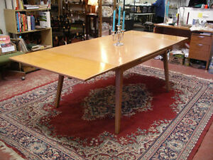 Jan Kuypers Birch Draw-Leaf Dining Table by Imperial of Canada Kawartha Lakes Peterborough Area image 2