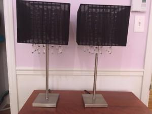 Deux lampes de table - Magnifiques!