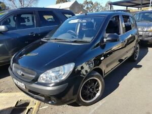 2010 Hyundai Getz TB MY09 SX Black 4 Speed Automatic Hatchback Campbelltown Campbelltown Area Preview