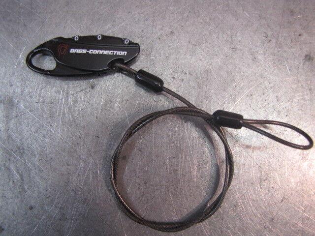 SW-MOTECH BCLOC0000210000/B LUGGAGE LOCK LOCK Motorradtaschen-Kabelschloss 50cm