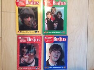 The Beatles 40th Anniversary Tribute set of four Globe Digests