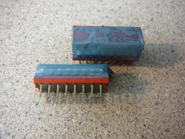 GRAYHILL PIANO-DIP Switch 8-Position Rocker Thru-Hole SPST **NEW** Qty.5