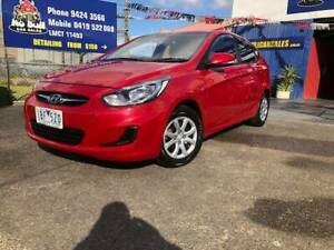 2014 Hyundai Accent ACTIVE Manual Hatchback RWC INCLUDED. Epping Whittlesea Area Preview