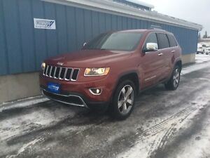 2015 Jeep Grand Cherokee Limited 4X4 LOW KMS