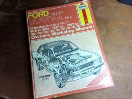 Ford Cortina Mkiv Owners Workshop Manual Haynes