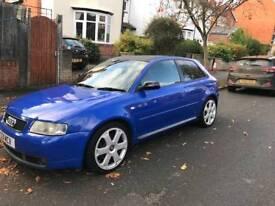 Rare nogaro blue Audi s3