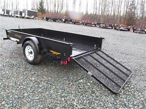 5' X 10' UTILITY TRAILER WITH SOLID SIDES Prince George British Columbia image 4