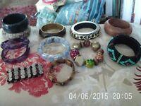 x12 Bangles - All in excellent condition