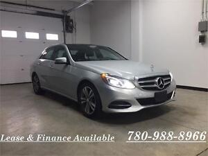 2014Mercedes E300 4matic,pano.roof, Navi,BSM,F. warranty!