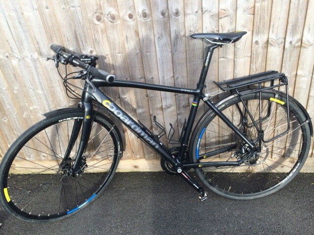 Medium Boardman Hybrid Pro With Rack And Mud Guards In