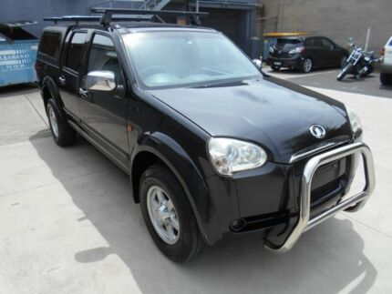 2010 Great Wall V240 Black 5 Speed Manual Dual Cab