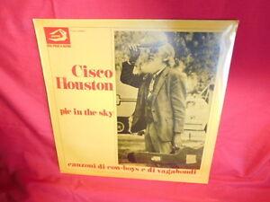 CISCO-HOUSTON-Pie-in-the-sky-LP-ITALY-1977-MINT-SEALED-Albatros-Folk
