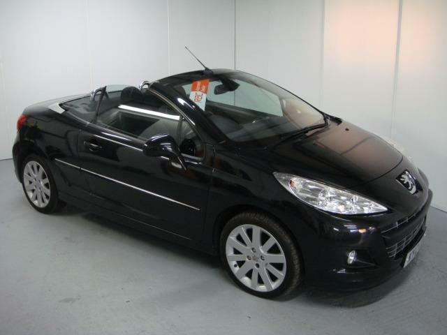 peugeot 207 cc gt hdi black manual diesel 2012 in penylan cardiff gumtree. Black Bedroom Furniture Sets. Home Design Ideas