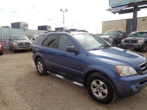 2005 KIA SORENTO SPORT PKG- 4×4- 3.5L 6CYL-GOOD TIRES-ONLY 143K