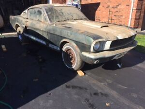 66 Mustang GTK Fastback Project Shelby Clone For Sale  BARN FIND