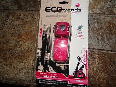 Eco Trends Web Cam PC Camera (Pink)