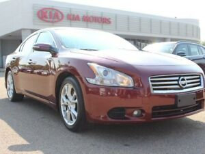 2012 Nissan Maxima SV, SUNROOF, LEATHER, HEATED WHEEL / SEATS