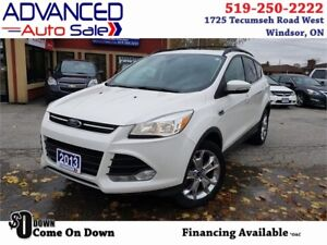 2013 Ford Escape SEL-AWD Leather/Nav $60.72/WEEK*o.a.c.+HST&Lic.