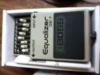 Boss EQ GE7 pedal