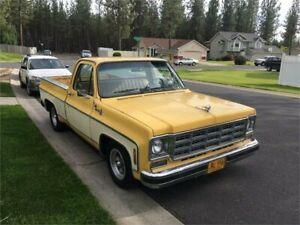 1978 Chevrolet C10 C10 Yellow Automatic Pickup Wodonga Wodonga Area Preview