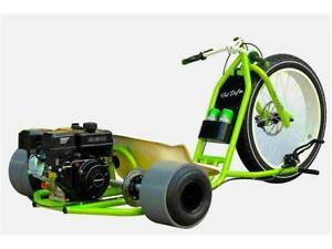 Motorized PHAT Drift Trike 212cc 7hp 4 Stroke