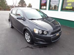 2014 Chevrolet Sonic LS w/ A/C and Bluetooth only $86 bi-weekly!