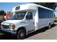 2006 FORD ECONOLINE CUTAWAY 20 PASS BUS 208K ONLY $7,980.