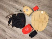 PacaPod Black Portland change bag in excellent condition