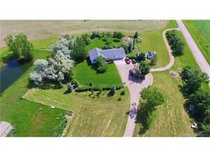 Gorgeous Acreage - 4.87 Acres in the County of Lethbridge