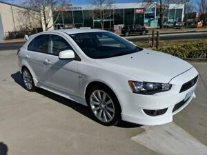 2009 Mitsubishi Lancer CJ MY10 VR-X Sportback White 6 Speed Constant Variable Hatchback Fyshwick South Canberra Preview