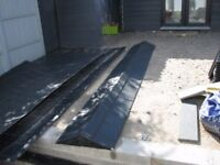 Slate effect GRP roofing