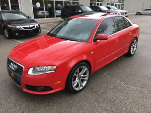 2008 Audi A4 2008 Audi A4 SLINE 6SPEED*2.0T*BLUE TOOTH*SUN ROOF