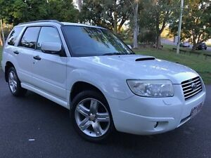 2007 Subaru Forester 79V MY08 XT AWD Metallic White 4 Speed Automatic Wagon Herston Brisbane North East Preview